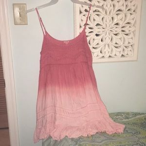 Ombre Pink Sundress